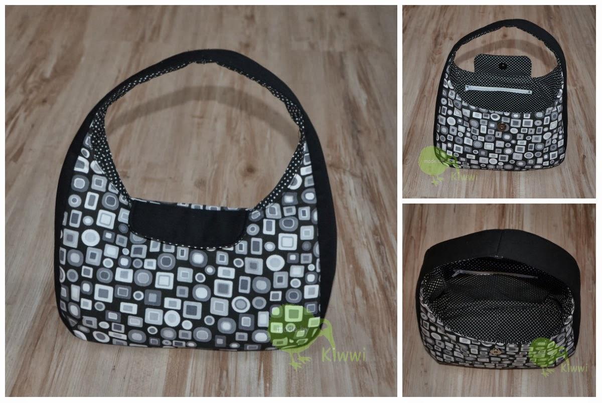 Made by Kiwwi: Runde Tasche