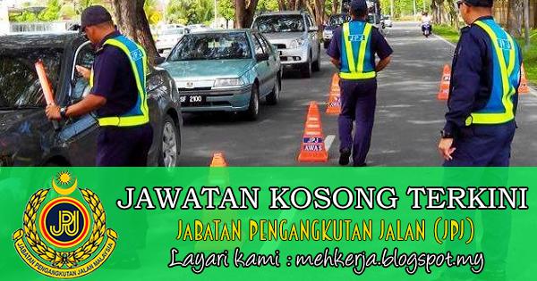 Jawatan Kosong di Jabatan Pengangkutan Jalan (JPJ) - 14 Januari 2018 [50 Kekosongan]