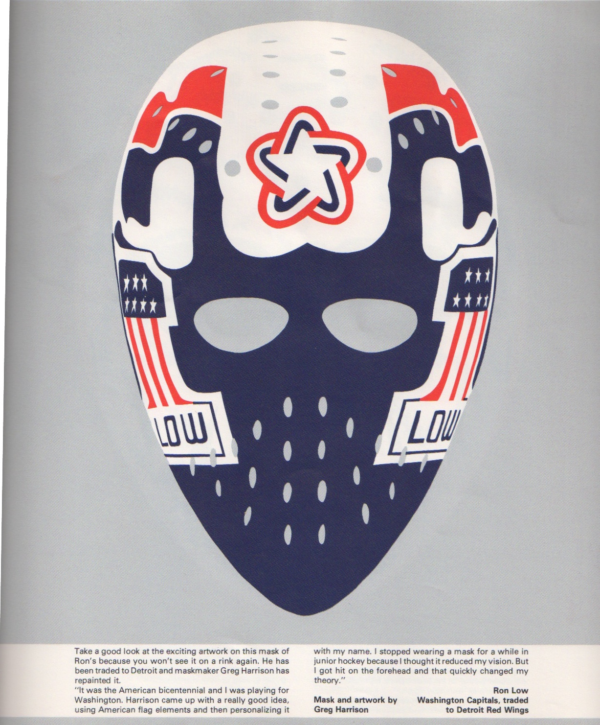 Nitzy's Hockey Den: 1978 Goalie Mask Book