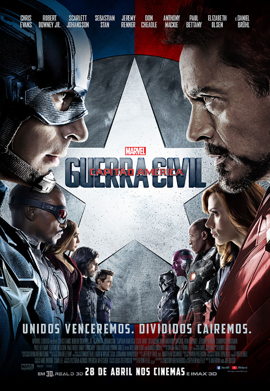 Filme: Capitão América: Guerra Civil (Captain America: Civil War, 2016)