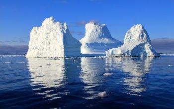Wallpaper: Nature: Floating icebergs
