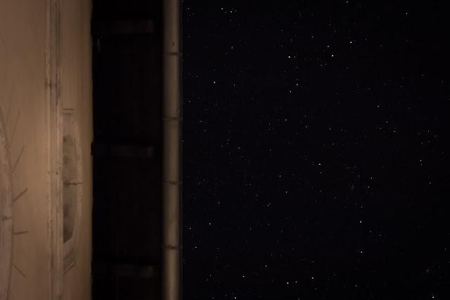 Ungewöhnliche Perspektive des Sternenhimmels