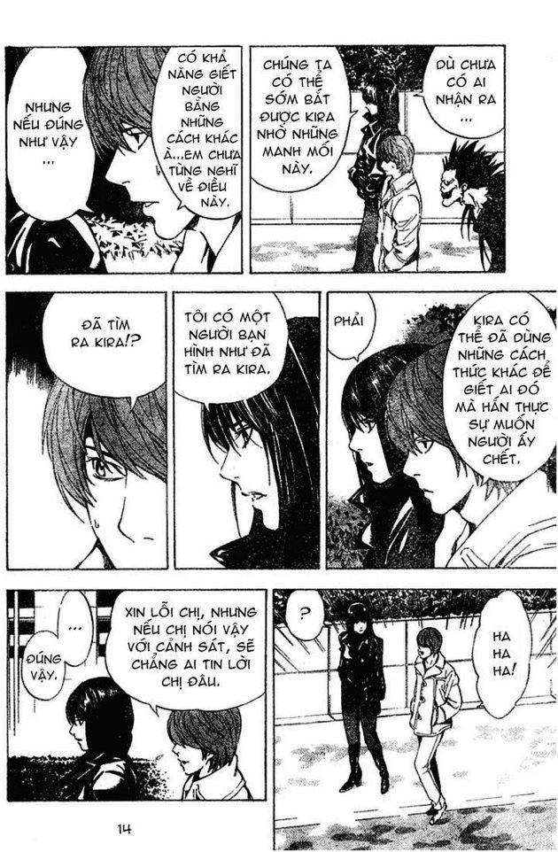 Death Note chapter 012 trang 15