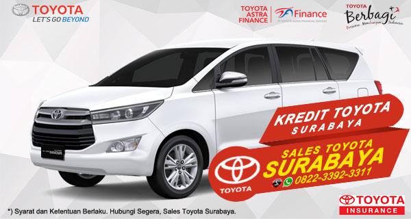 Promo DP Ringan, Paket Kredit Toyota Kijang Innova Surabaya