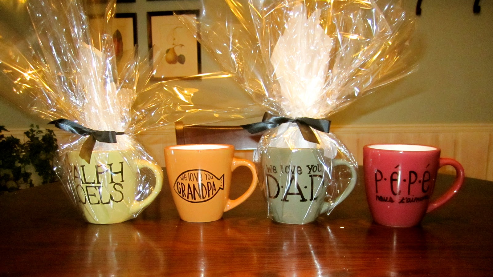Fathers Day Mugs Diy