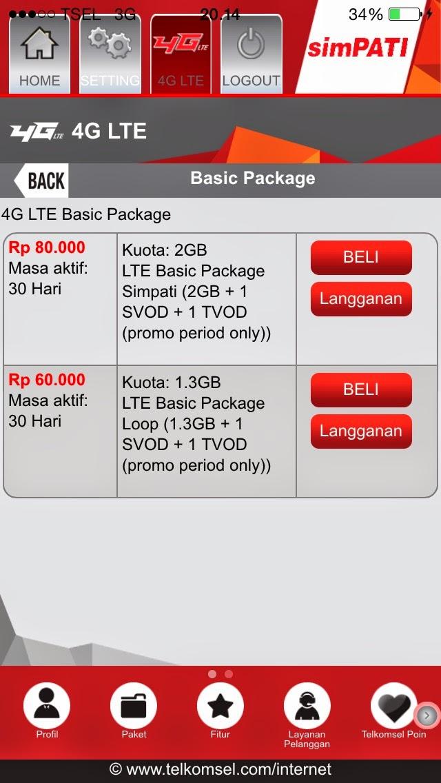 Daftar Harga Paket Internet Telkomsel Murah