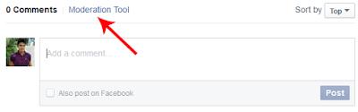 Facebook-Moderation-Tool