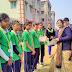 বর্ধমান মডেল স্কুলের বার্ষিক ক্রীড়া, জ্বললো মশাল