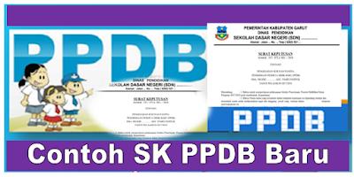 Download Contoh SK PPDB 2018 Untuk SD SMP SMA SMK Terbaru