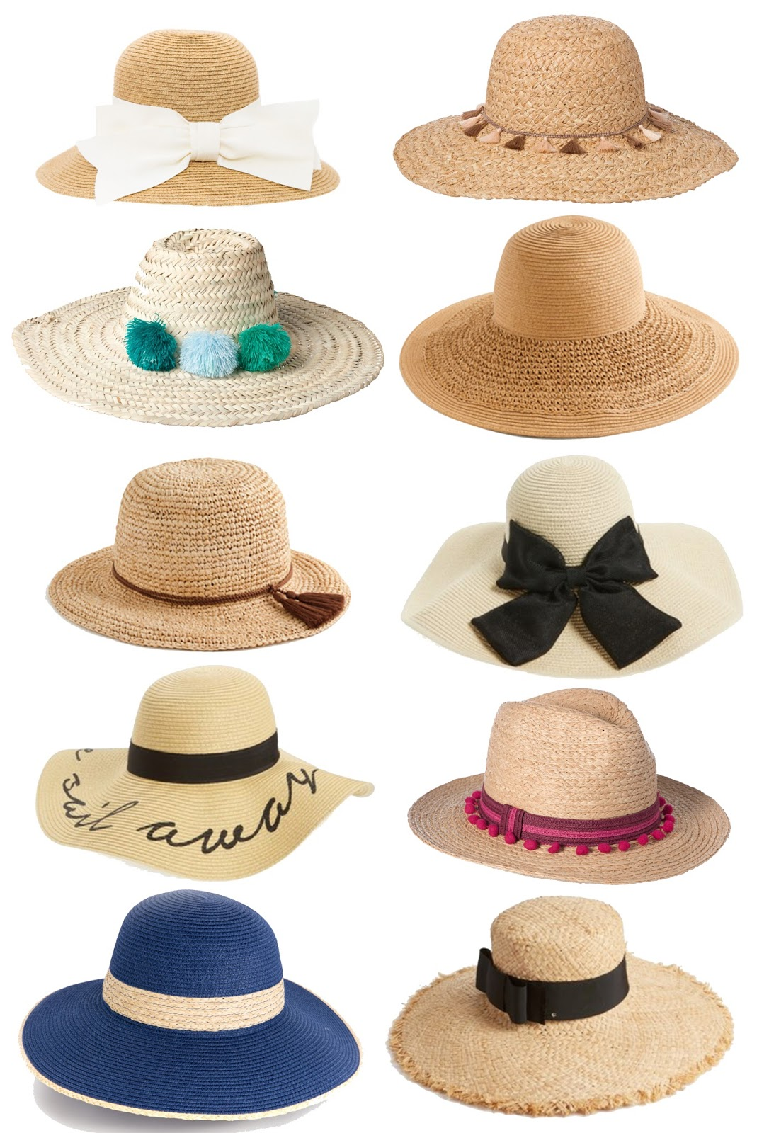 Something Delightful Blog: Favorite Sun Hats
