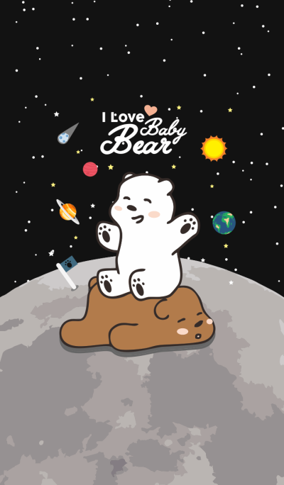 I Love Baby Bear (Galaxy ver.)