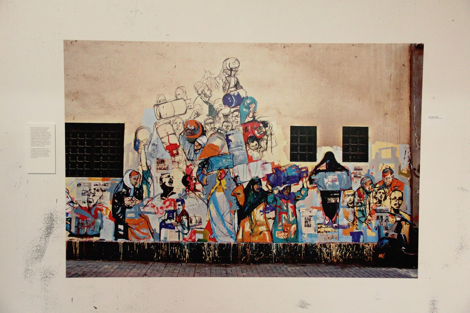 Graffiti art representing the voices of the people.