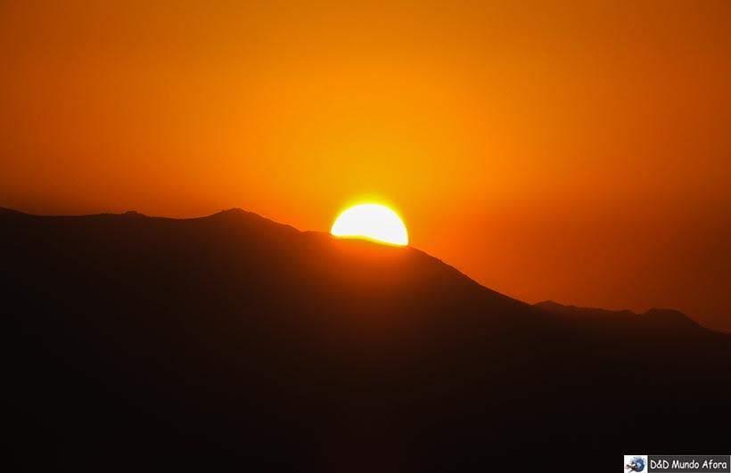 Pôr do sol em Santiago visto do alto do Sky Costanera - kkk - Diário de Bordo Chile: 8 dias em Santiago e arredores