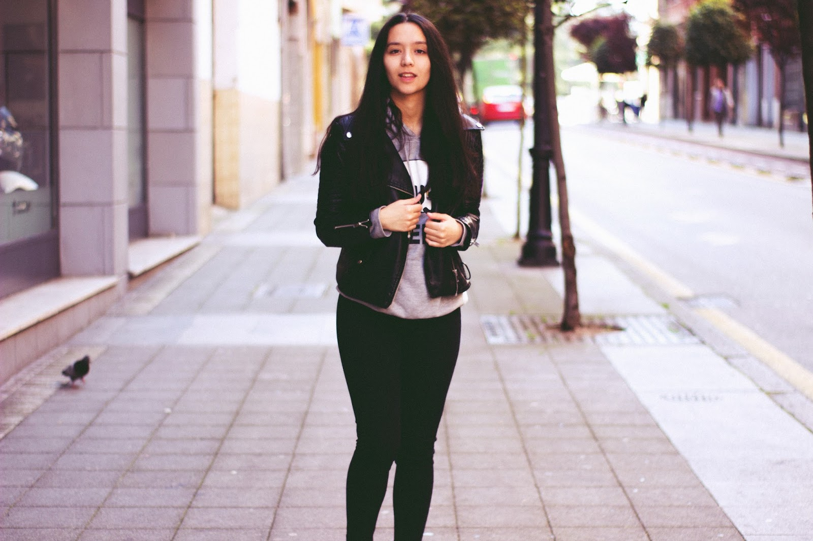 black jeans outfit 2017