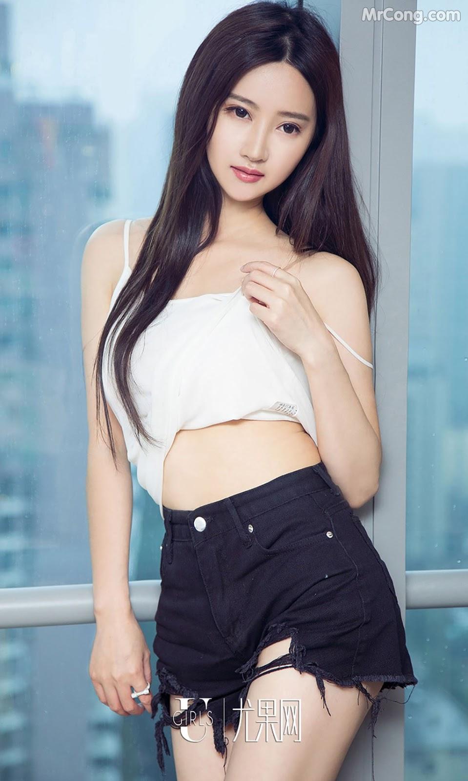Image UGIRLS-Ai-You-Wu-App-No.790-MrCong.com-004 in post UGIRLS – Ai You Wu App No.790: Người mẫu Han Yu Chan (韩雨婵) (40 ảnh)