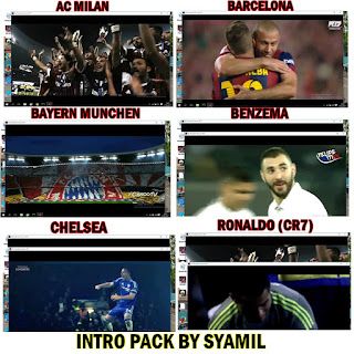 PES 2017 Intro Pack by Syamil (14 Intro)