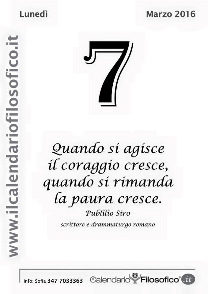 Conosciuto La frase del giorno (Dal calendario filosofico) - LIPARINET TG63