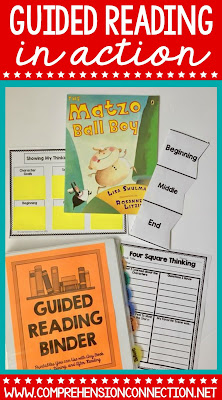 Creating a guided reading binder that is divided up by skill makes planning your guided reading lessons SO MUCH EASIER! This resource includes 72 activities in both PDF and Digital formats to make your language arts block easy to plan. Check it out to learn more.