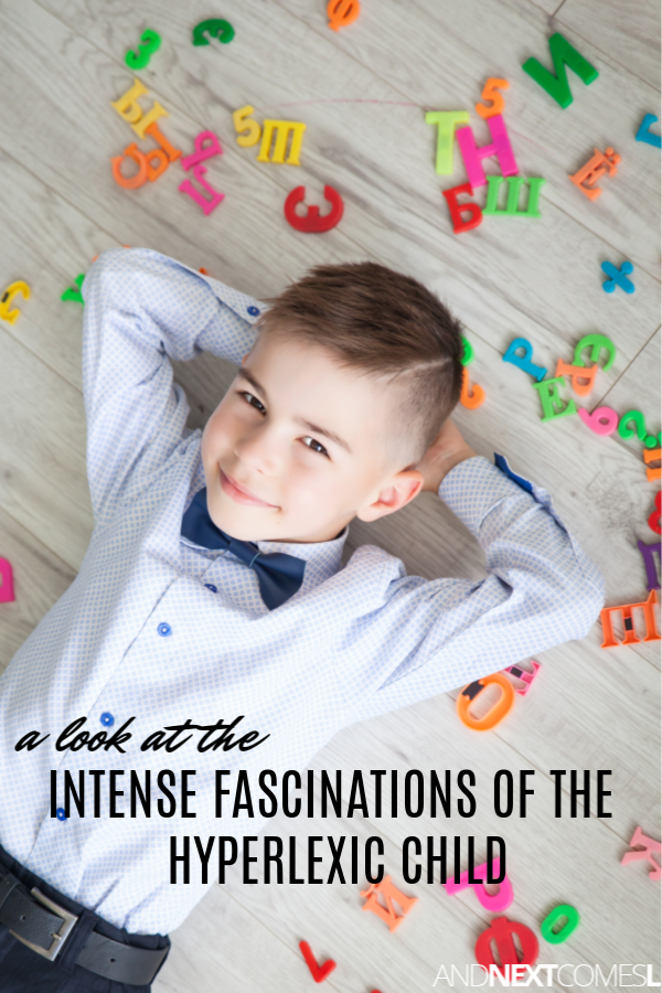 Kids with hyperlexia have intense fascinations with letters, numbers, maps, logos, and more! Find out how to use these fascinations to help the hyperlexic child learn new skills