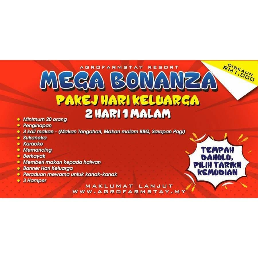 Pakej Family Day Murah Di Agrofarmstay Melaka Mega Bonanza Kembali Catatan Sue Izza