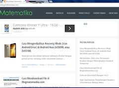Berganti Template Blog yang Lebih User Friendly