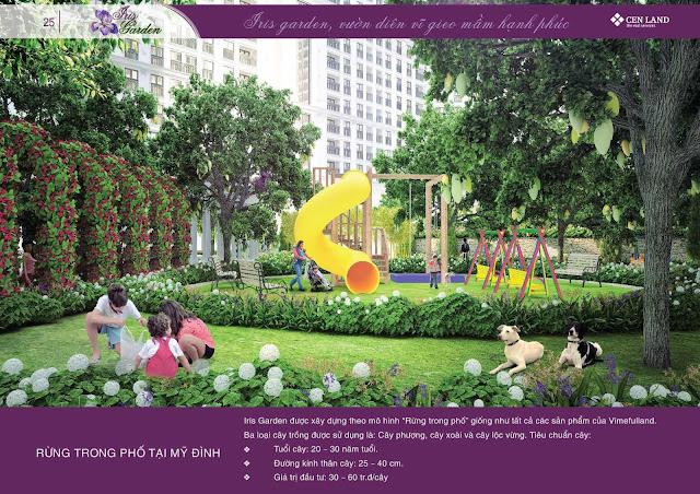 Không gian vui chơi Iris Garden