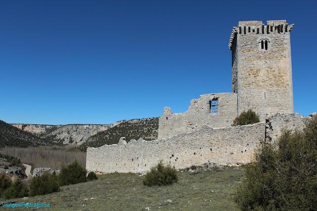 Castillo de Ucero, Parque natural del Cañón del Río Lobos, Soria, Castilla y León