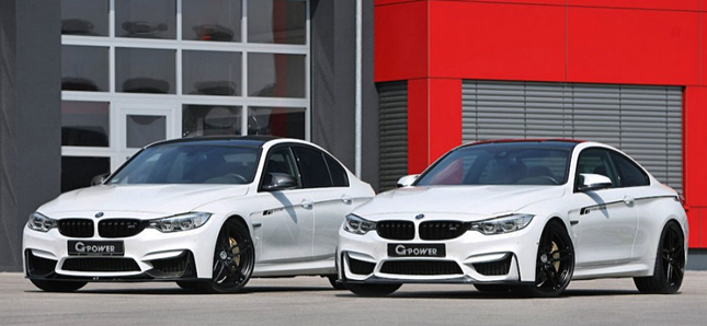 BMW M3 & M4 with Power Kit by G-Power Review