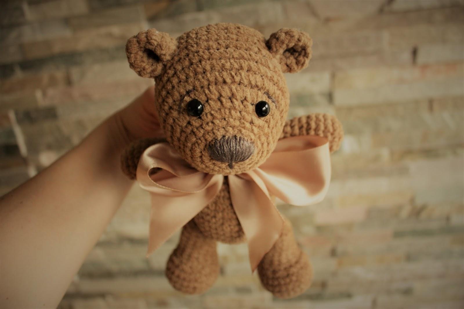 Amigurumi Bear Maya : HAPPYAMIGURUMI