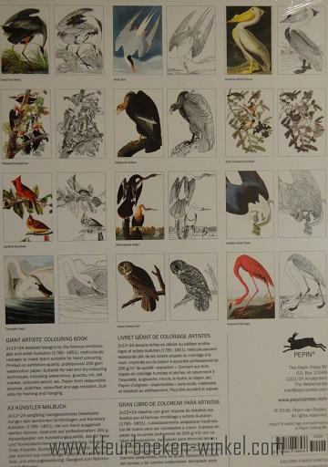 kleurboek GK 04 birds of america