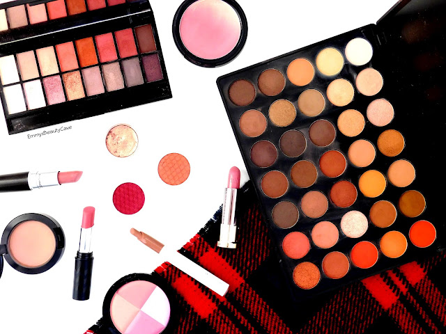 Autumn Warm Toned Makeup, Morphe 35O, ColourPop, MAC, Urban Decay