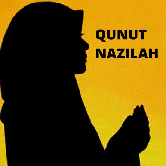 Bacaan Do'a Qunut Nazila Bahasa Arab