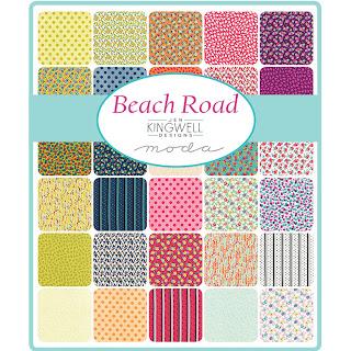 Moda Beach Road Fabric by Jen Kingwell
