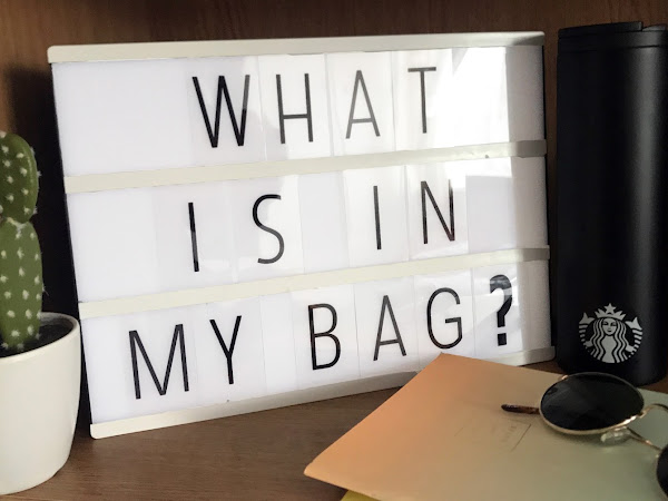 What's in my bag??...