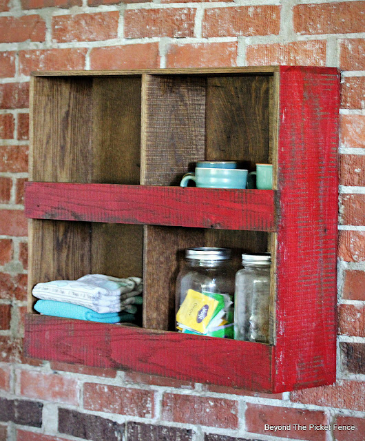 Rustic Wall Shelf