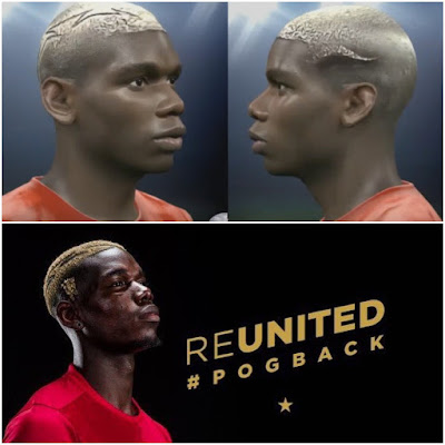 PES 2016 Paul Pogba Face by Felix