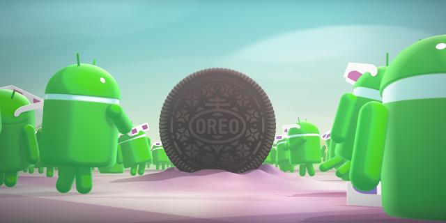 Android 8.0 Oreo.
