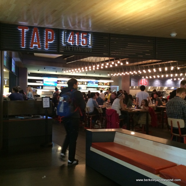interior of TAP415 in San Franciscco