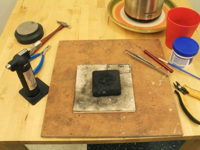 Metal Studio Workbook Setting Up A Home Jewelry Studio