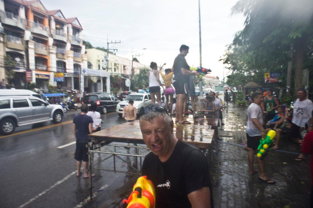 Songkran krabi