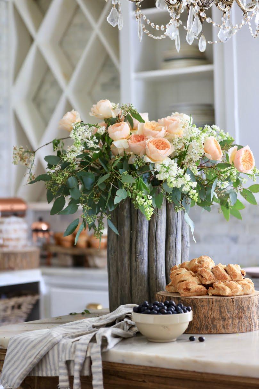 20 minute decorating- Easy elegant flower arrangement