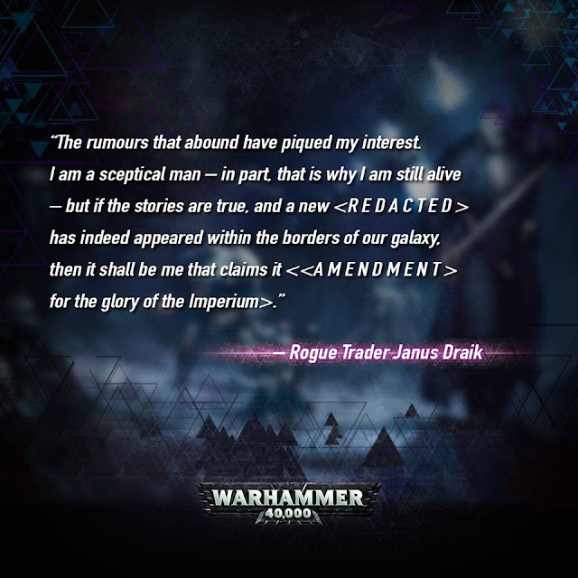 Rogue Trader Janus Draik