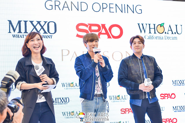 LeeTeuk and KangIn at SPAO Malaysia Launch in PavilionKL