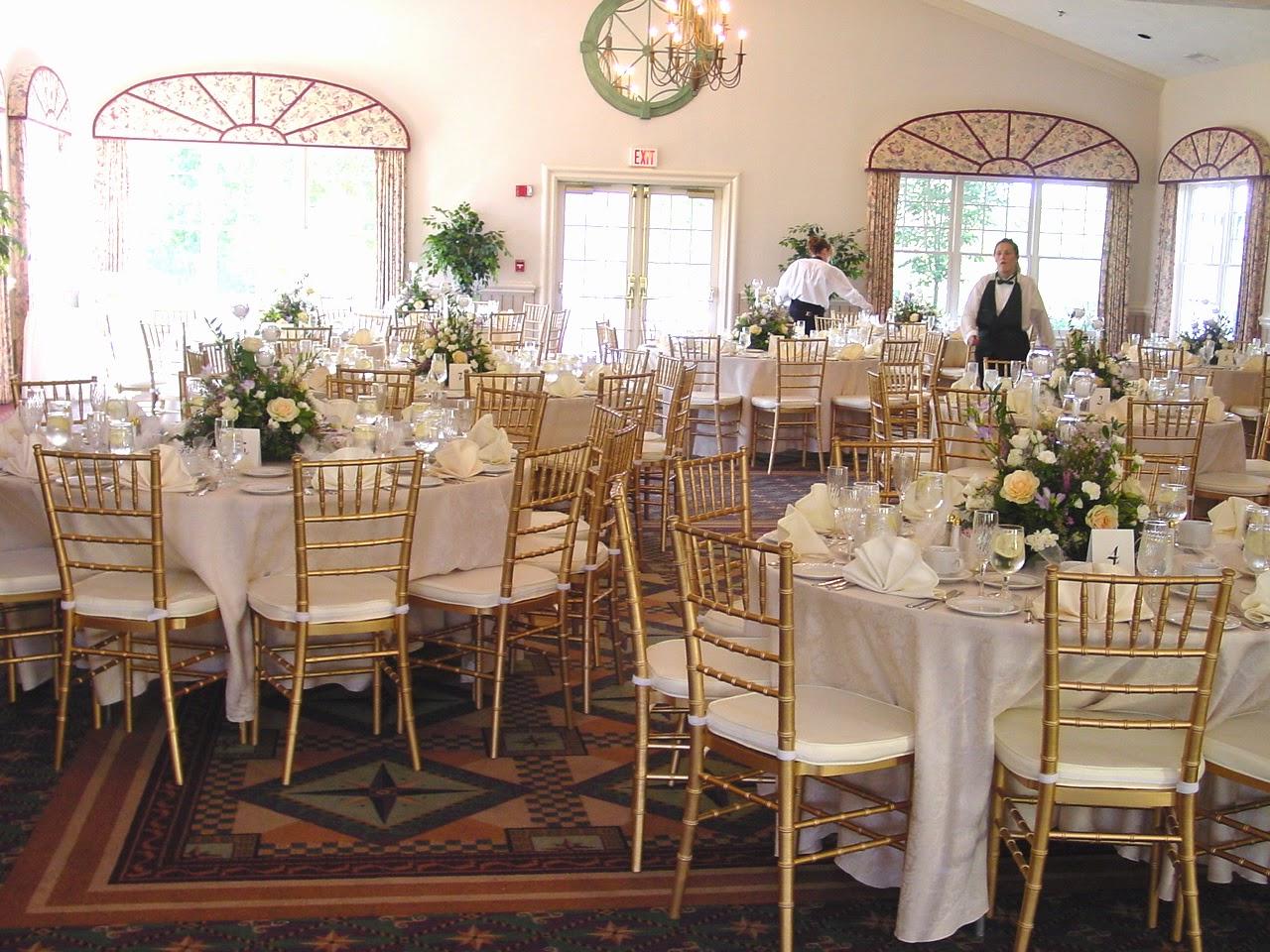 Salon preparado para boda