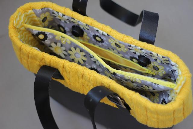 Scuola di cucito rivestimento interno per obag con fascia for Interno o bag