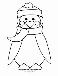 Cute Penguin Coloring Sheet For Print