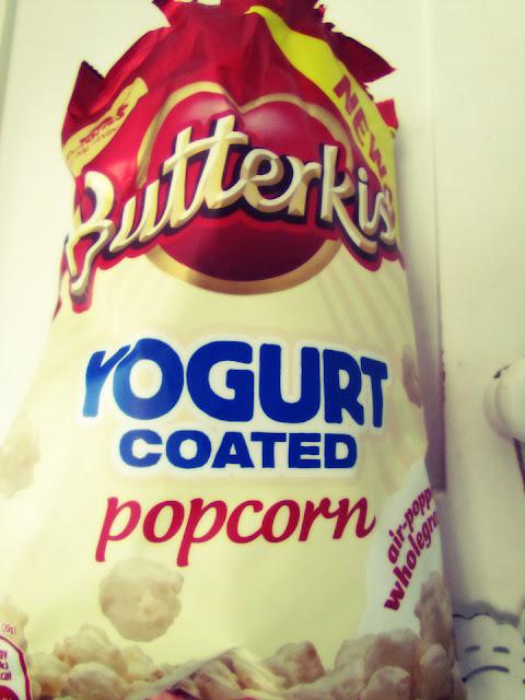 Butterkist Yoghurt coated