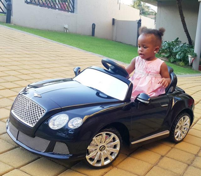 Diamond Platnumz Daughter Gifted With A Bentley (Photos