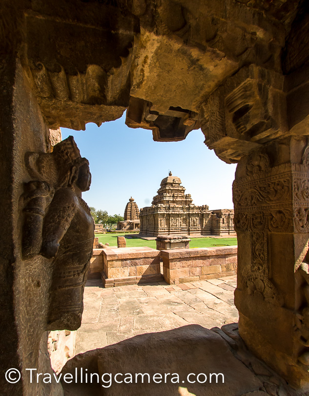 While visiting Pattadakal, you can also plan places like Badami Cave Temples and Aihole.