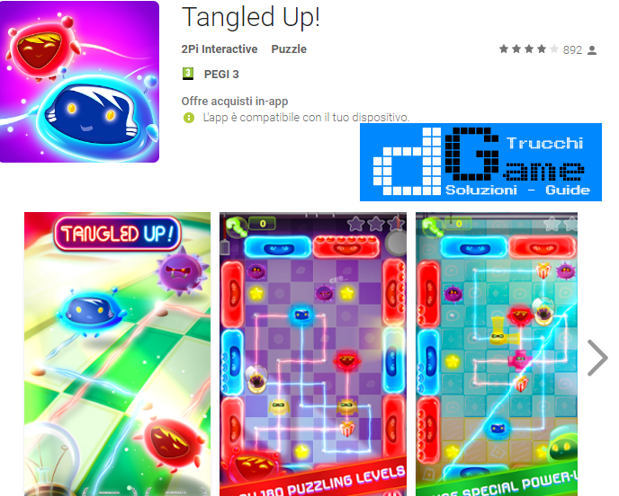 Trucchi Tangled Up Mod Apk Android v1.0